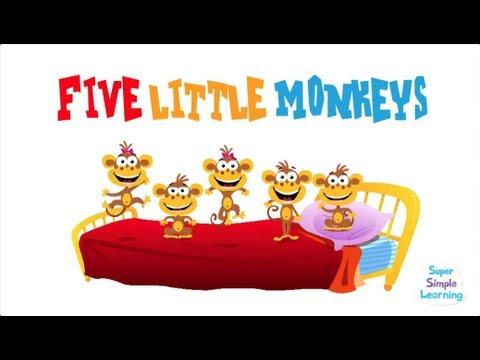 five-little-monkeys-|-super-simple-songs
