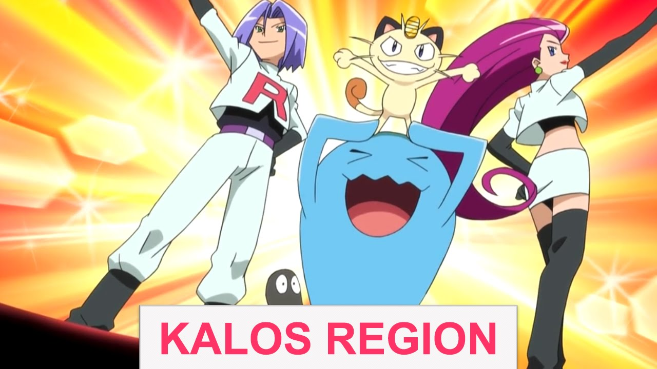 how to get to kalos region