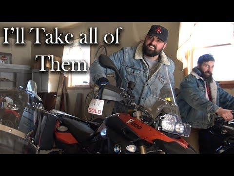 How I bought 19 motorcycles in 1 day (a personal record)