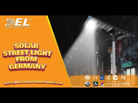 New Germany Design Solar LED Street Light