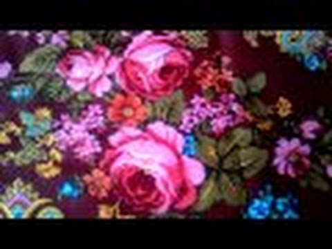 Павловопосадский платок Летние сумерки