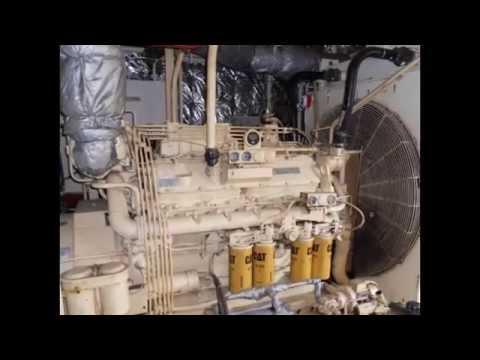 CAT 3412 DI Marine Diesel Generators for Sale