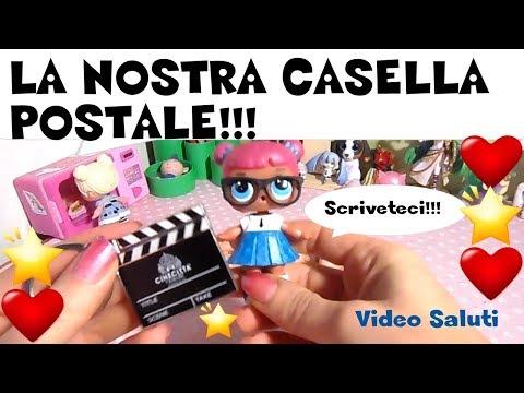 ABBIAMO LA CASELLA POSTALE PER VOI!!! News e SALUTI By Lara e Babou