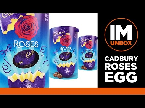Cadbury Roses Chocolate Egg | Unboxing