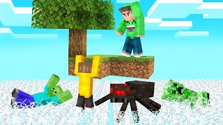 DON'T Get CAUGHT In The RISING COBWEB! (Minecraft)
