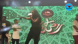 Wendy Shay 'kills' crowd with new single; 'Stevie Wonder' at 2019 SallahFest