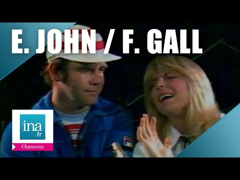 Elton John et France Gall 'Donner pour donner'   Archive INA