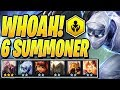 6 SUMMONER (+120% HEALTH!) - Teamfight Tactics TFT Ranked Strategy Best Comps Guide SET 2 Meta