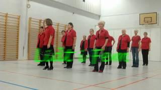 Lidt I Fem - Line Dance