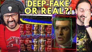 Andrew Garfield Leaked Video CONFIRMED FAKE?? REACTION!! (Spider-Man No Way Home