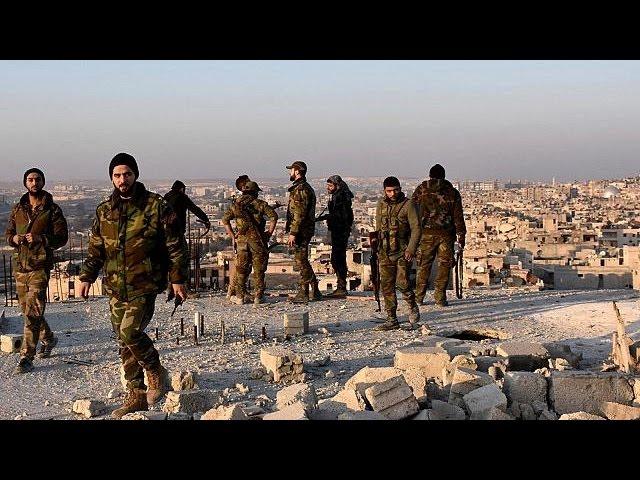 Сирийская армия продвигается вглубь восточной части Алеппо