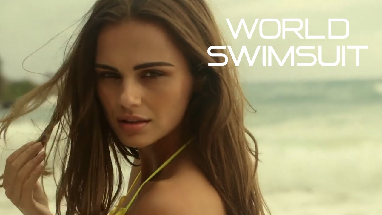 Xenia Deli on the beach in Borneo, Malaysia   WorldSwimsuit