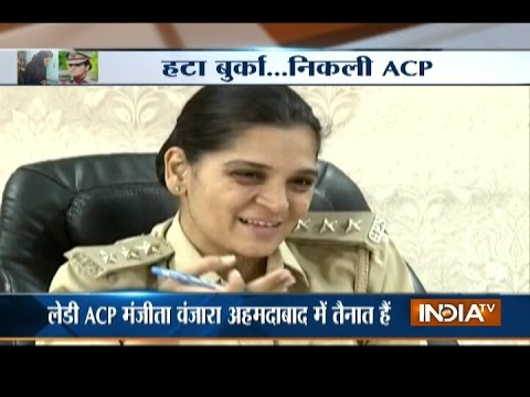 ACP Manjita Vanzara in burqa raids gambling den, arrests 28 gamblers