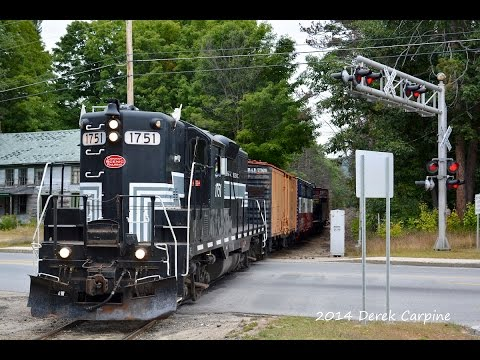 """Conway Scenic RR's """"Railfans' Weekend"""" 2014"""
