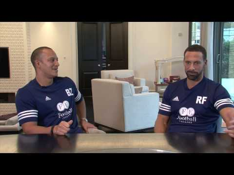 TEAM MATES with Bobby Zamora and Rio Ferdinand