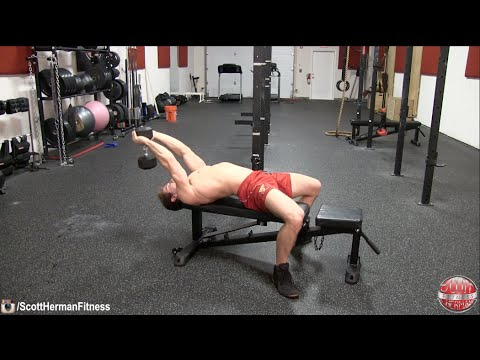 How To: Dumbbell Pull-Over (Target Chest Or Lats) - YouTube