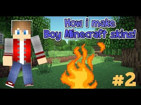 How To Make Boy Minecraft Skin #2