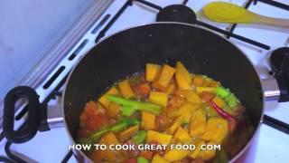 Pumpkin Coconut Milk & Lemon Grass Soup Recipe