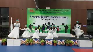 Dance Performance at MRIS-14, Faridabad
