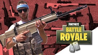 Fortnite Airsoft Guns in Real Life! | TrueMOBSTER