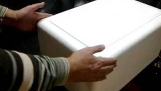 Вармбокс - термоконтейнер из пенопласта