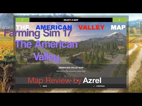 Farming Simulator 17 - American Valley Map V1.2 - Map Walkthrough