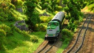 Miniatur Modellbahn in Weimar