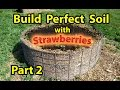 How to Build ( NATURE''S Healthy Soil ) in Raised Wood Chip Organic Bed Gardening - Designs - Part 2