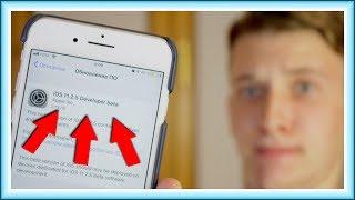iOS 11.2.5 – ОШИБКА APPLE!? НЕ ТО, ЧТО НУЖНО??
