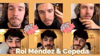 Roi Méndez y Cepeda hablando sobre La Misma Dirección desde sus casas
