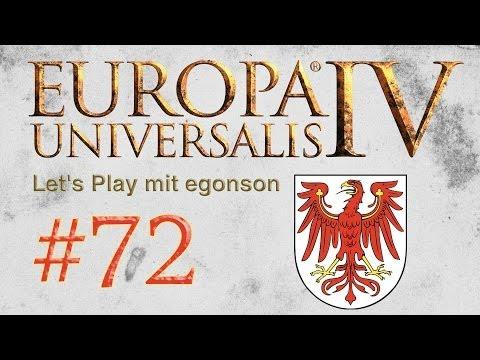 Let's Play Europa Universalis IV (Brandenburg) #72 Hallo Deutschland