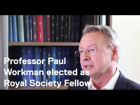 ICR CEO Professor Paul Workman elected as a Fellow of the Royal Society