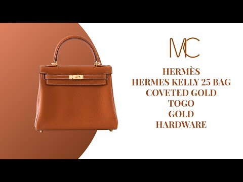 e9b2a4ae711 MIGHTYCHIC • HERMÈS Kelly 25 Bag Coveted Gold Togo Gold Hardware