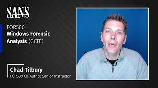 Why take the FOR500: Windows Forensic Analysis course
