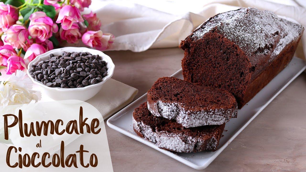 Tronchetto Di Natale Detto Fatto 2019.Plumcake Soffice Al Cioccolato Ricetta Facile Fatto In Casa Da Benedetta
