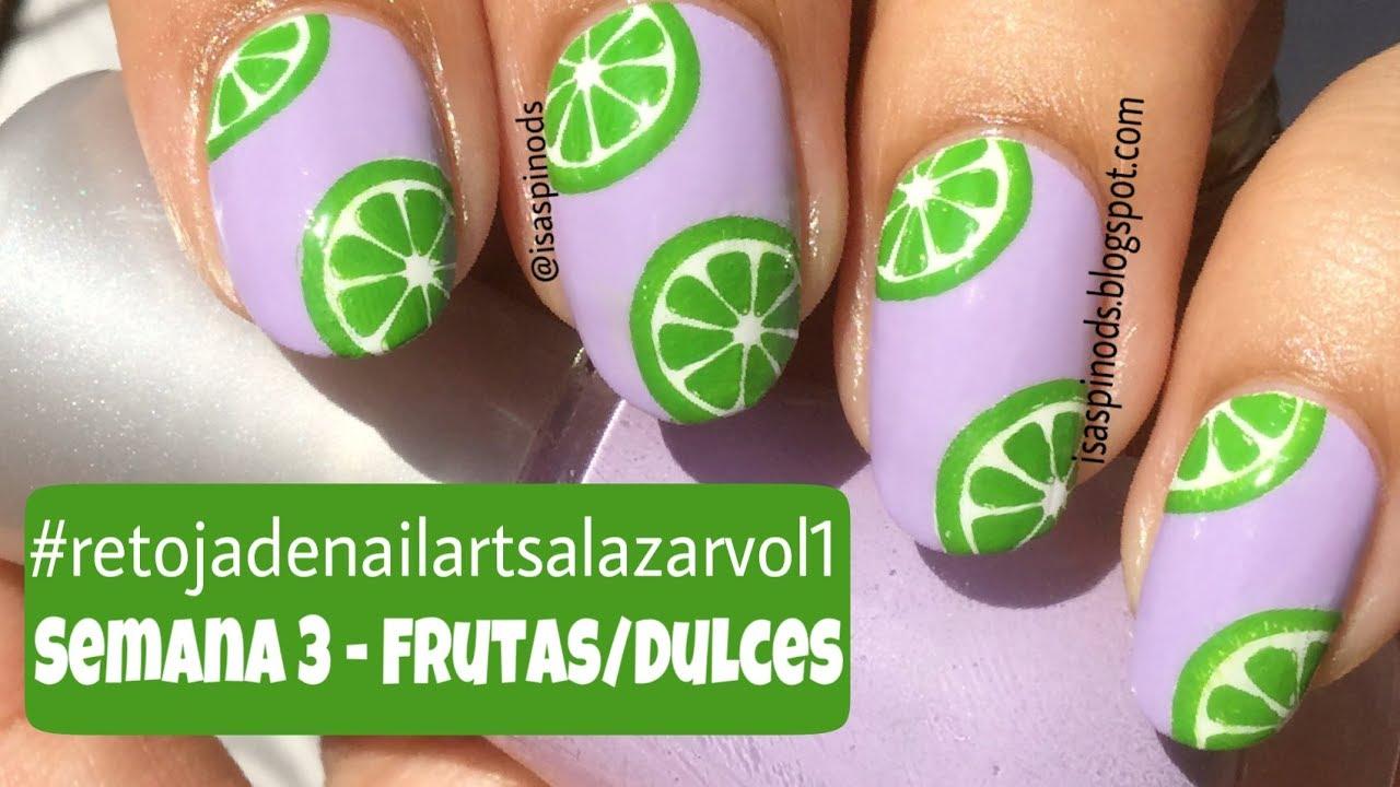 retojadenailartsalazarvol1 Semana 3 - Frutas/Dulces - Stamping ...
