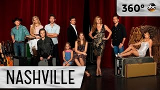 Clare Bowen & Brandon Robert Young Sing It's Not Yours To Throw Away- Nashville (360 Video)