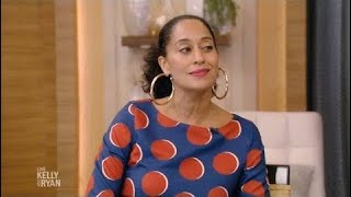 Tracee Ellis Ross Complete Interview on Live with kelly and Ryan 10.10.2017