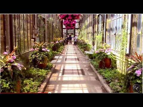 World's Most Beautiful Garden Cinematic Video! Longwood Gardens