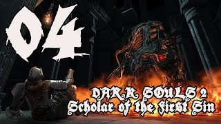 Dark Souls 2 Scholar of the First Sin - Walkthrough Part 4: Last Giant, Pursuer, & Armorer Denis