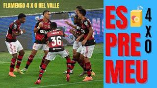 Com meninos, Flamengo espreme o Del Valle, saboreia classificação e sai mais forte do surto de COVID
