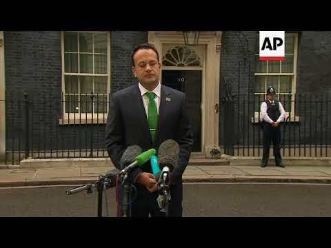 Irish leader on Brexit after meeting UK PM