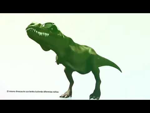 fabuloso Dinosaurio bailando 100 horas 😂