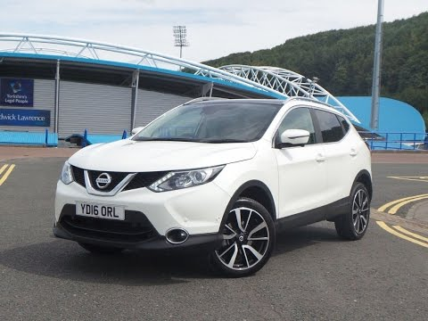 2016 16 Nissan Qashqai 1.5 DCi Tekna 5dr in White