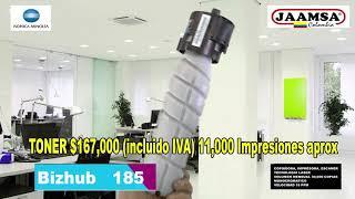 HD BIZHUB 185 HJ264 SET 2018