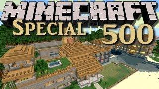 Minecraft - #500 - Der Enderdrachen Raid | DEBITOR