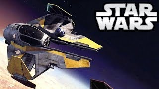Why Vader Still Flies a Jedi Star Fighter in Canon and Vader Fan Film - Star Wars Explained