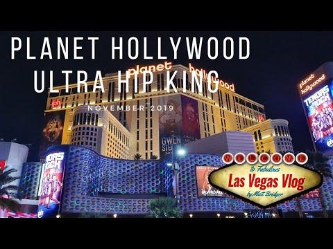Planet Hollywood Resort & Casino Las Vegas (Ultra Hip King 2293) Room Tour 26th November 2019