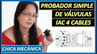 🔴 Como hacer un probador de válvula de IAC 4 cables casero❓SIMPLE Probador de IAC que FUNCIONA