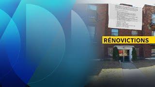 Rénovictions : des locataires demandent plus de recours